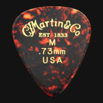 C F Martin Number 1 Medium 0.73mm Guitar Picks
